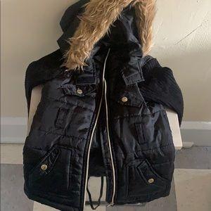 Chilipop Girls Coat w/Fur Hood sz 5/6